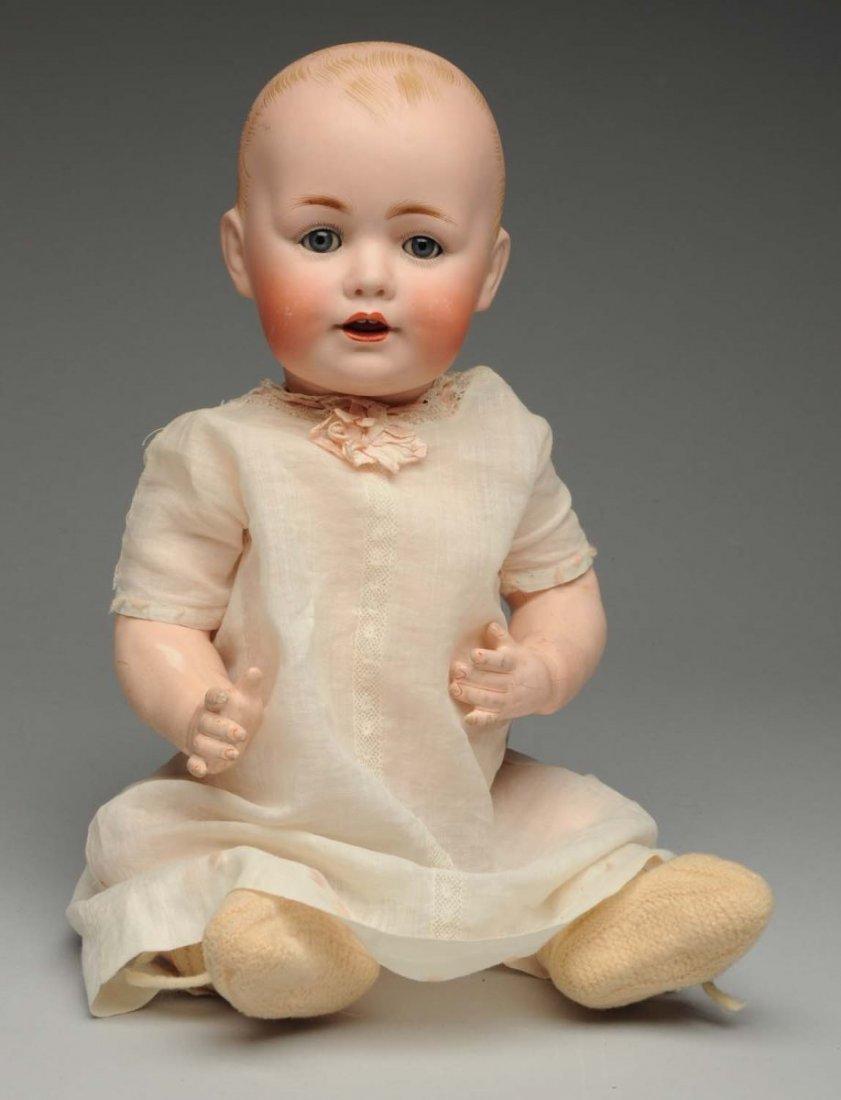 Smiling Kestner Character Baby Doll.
