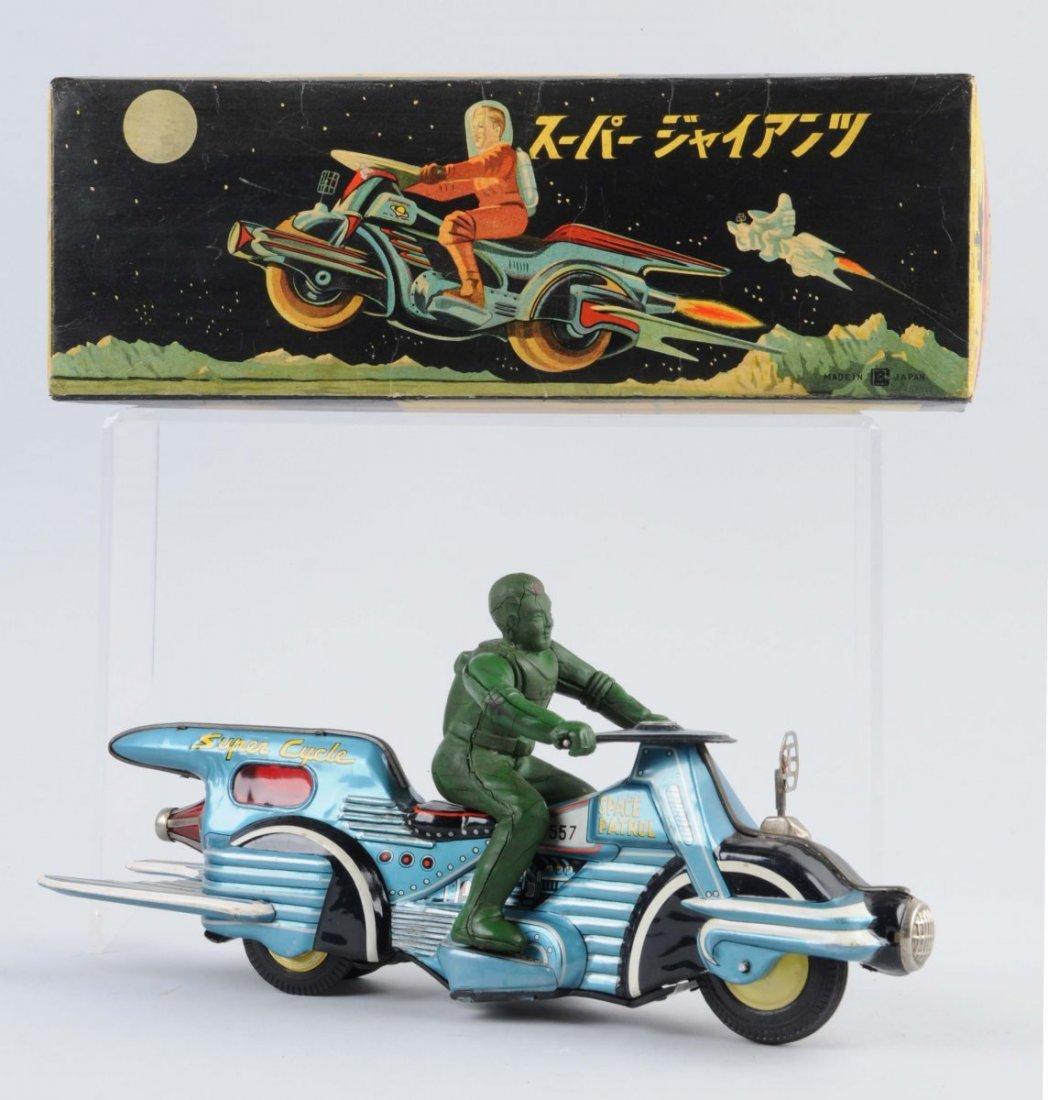 Japanese Tin Litho Friction Super Cycle.