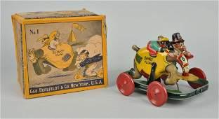 German Nifty Barney Google & Spark Plug Toy.