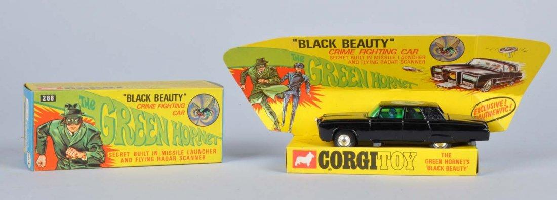Corgi Diecast Green Hornet Black Beauty Car Toy.