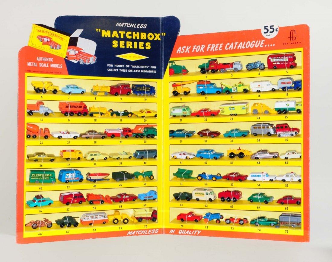 Very Rare 1960's Matchbox Car Store Display.