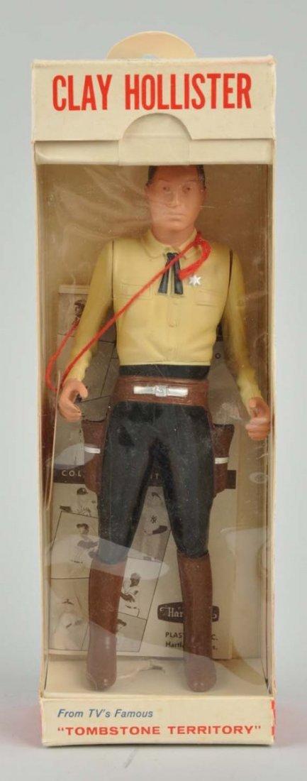 Hartland Clay Hollister Plastic Gunfighter Figure