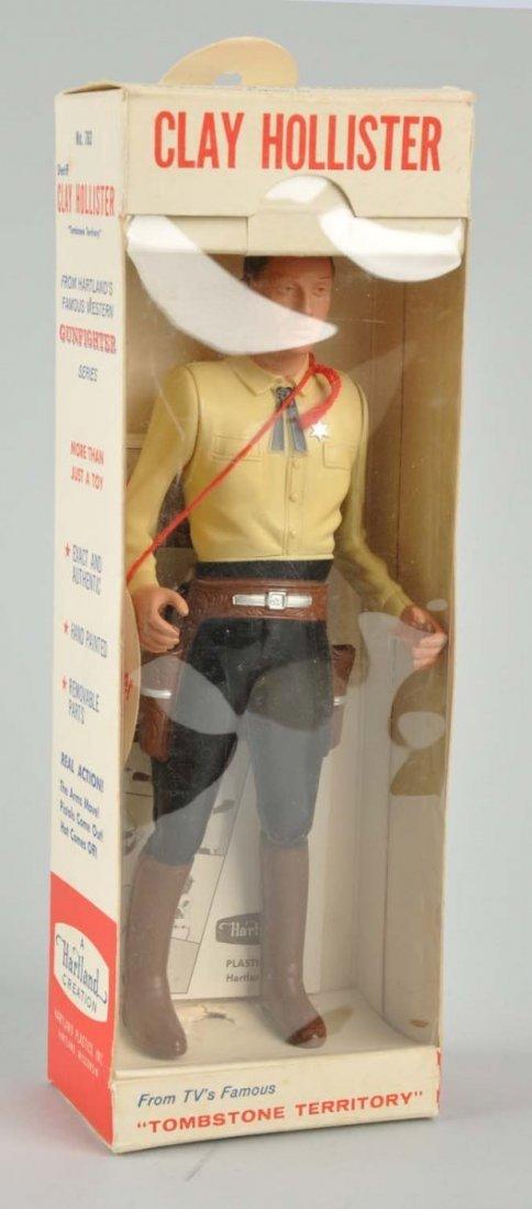 Hartland Clay Hollister Plastic Gunfighter Figure - 2