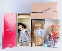 Lot of 3: Modern Dolls.