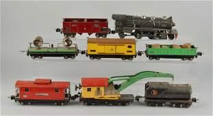 Lionel Pre-War O-Gauge No. 263 Freight Train Set.