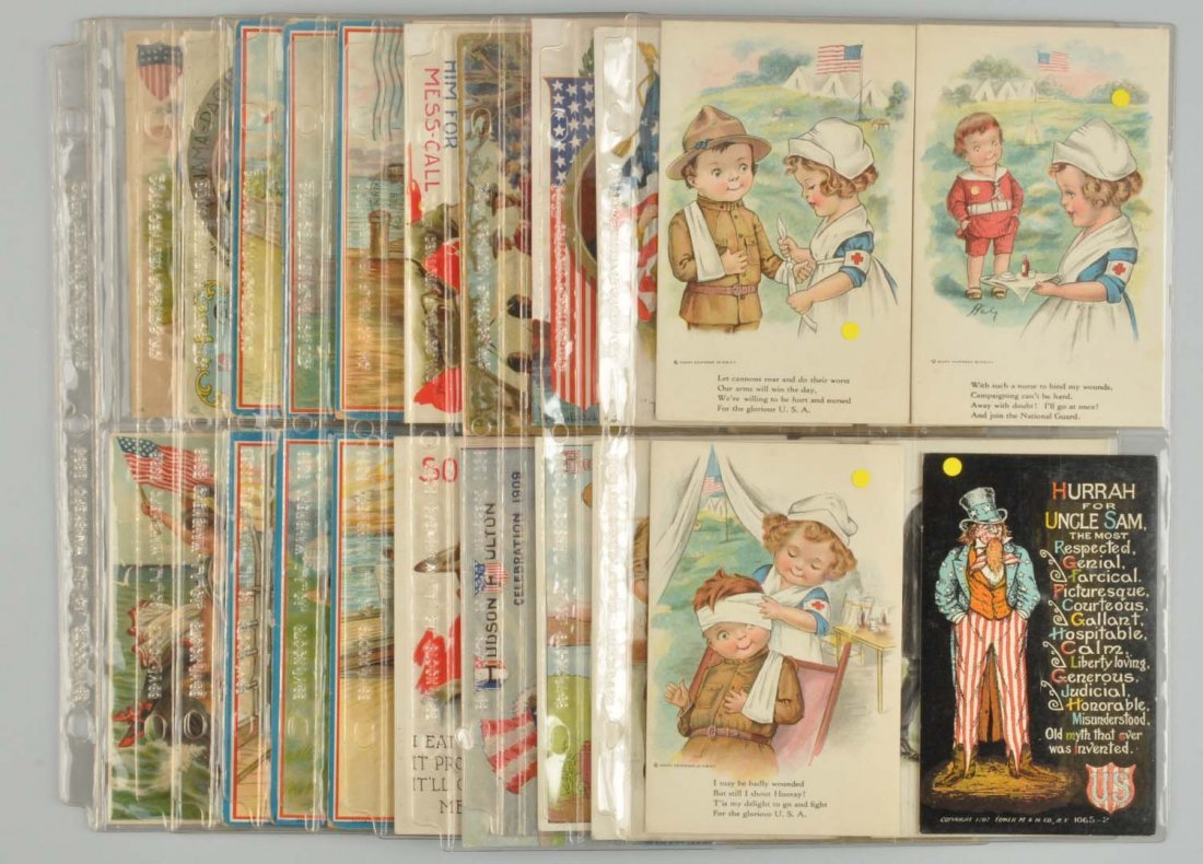 Lot of 43: Assorted Holiday & Expo Postcards.