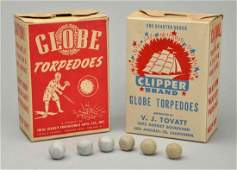 Lot Of 2 Boxes of Torpedoes