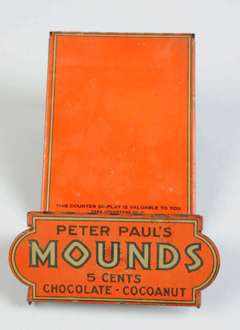 Mounds Candy Bar Tin Display Display Rack. - 3