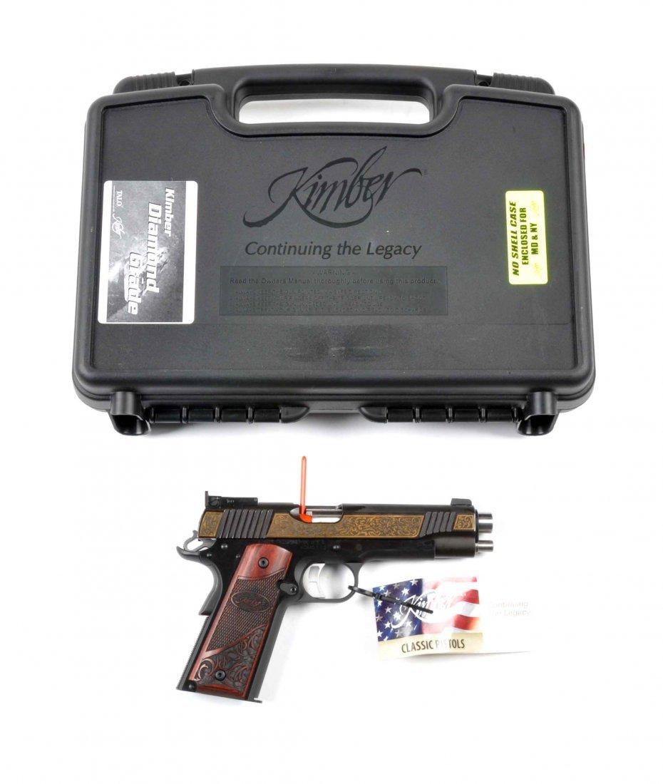 **MIB Kimber Custom 1911-A1 Semi-Automatic Pistol.