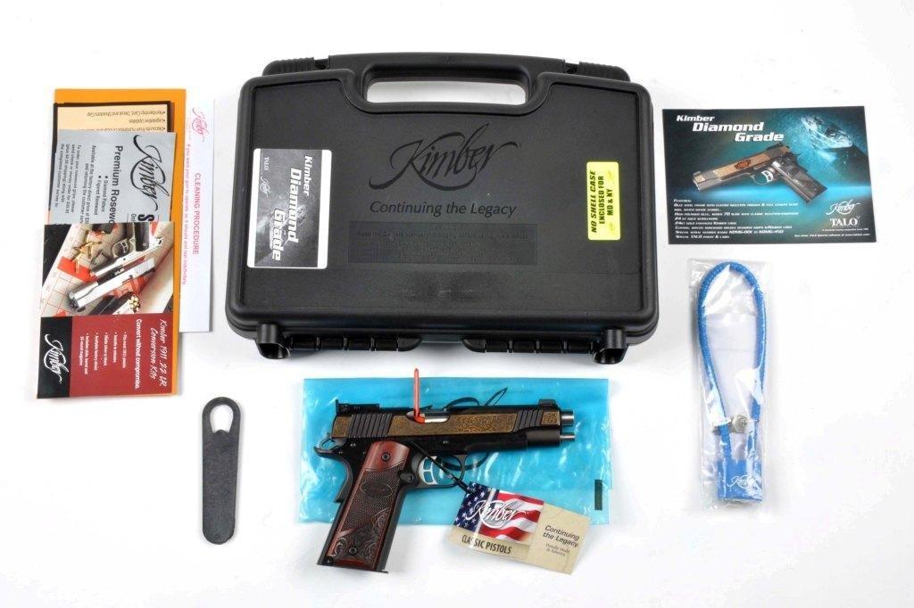 **MIB Kimber Custom 1911-A1 Semi-Automatic Pistol. - 2