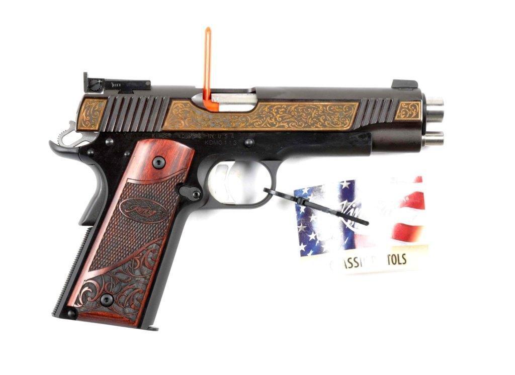 **MIB Kimber Custom 1911-A1 Semi-Automatic Pistol. - 3
