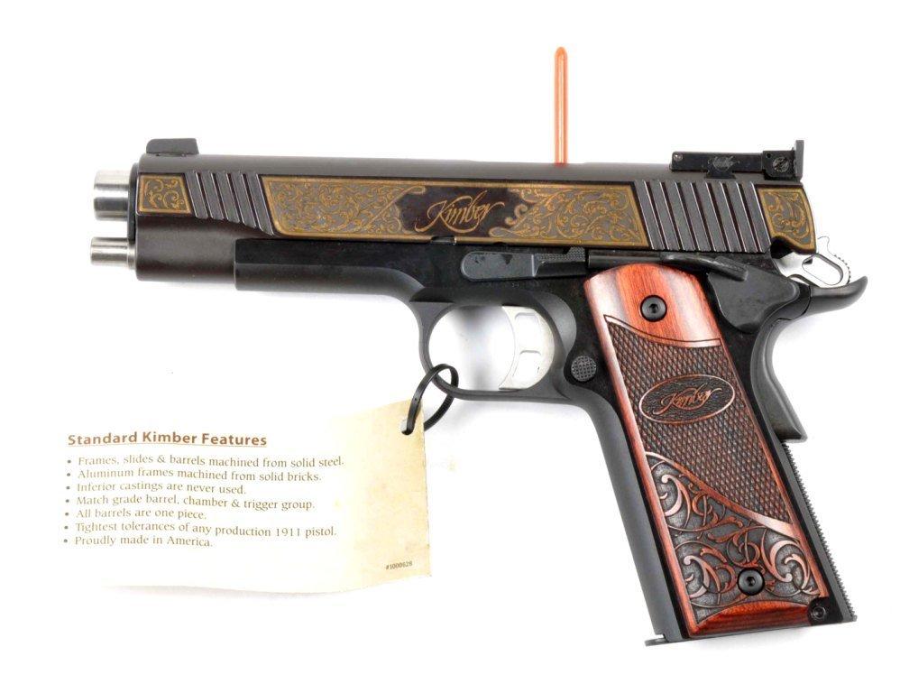 **MIB Kimber Custom 1911-A1 Semi-Automatic Pistol. - 4