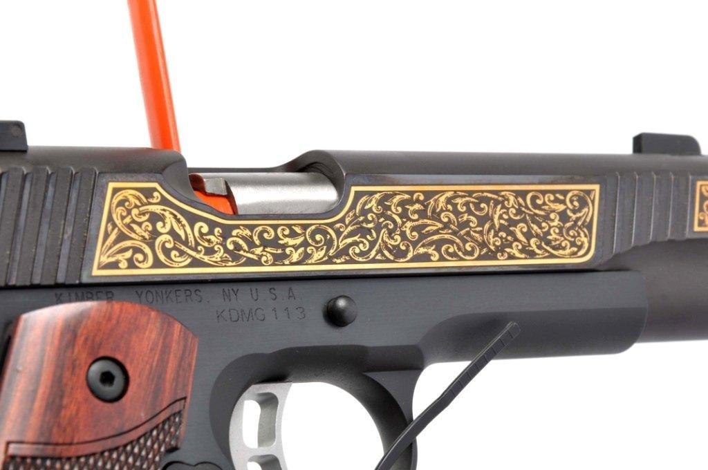 **MIB Kimber Custom 1911-A1 Semi-Automatic Pistol. - 5