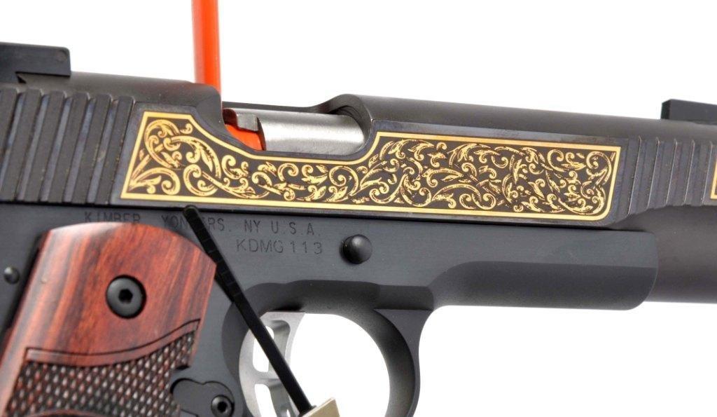 **MIB Kimber Custom 1911-A1 Semi-Automatic Pistol. - 9