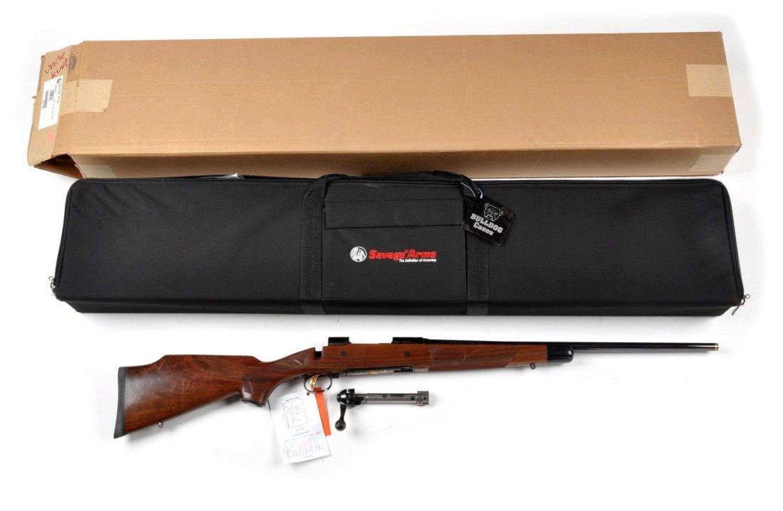 **Cased Savage Model 10 Bolt Action Rifle. - 6