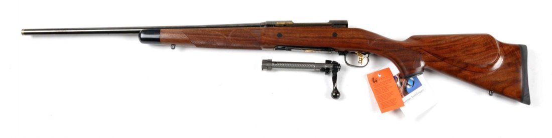 **Cased Savage Model 10 Bolt Action Rifle. - 7