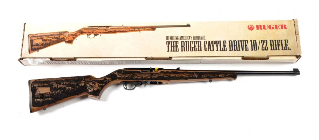 **MIB Ruger Model (Cattle Drive) 10/22 Rifle.