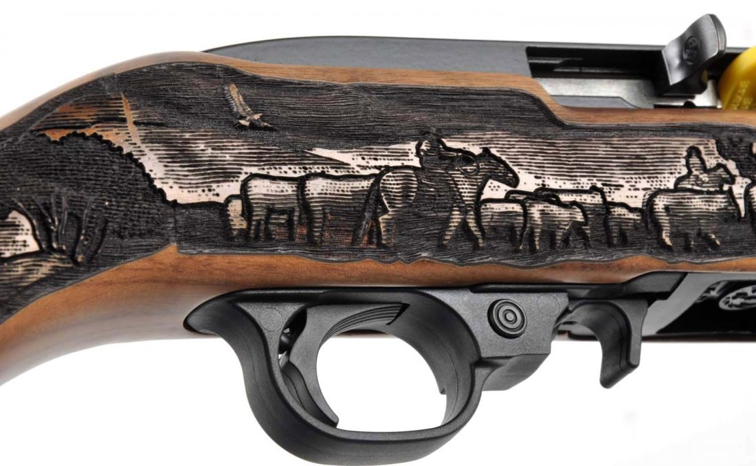 **MIB Ruger Model (Cattle Drive) 10/22 Rifle. - 8