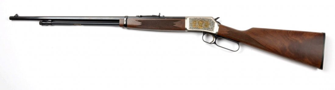 ** MIB Browning BL-.22 Lever Action Rifle (Alamo). - 2