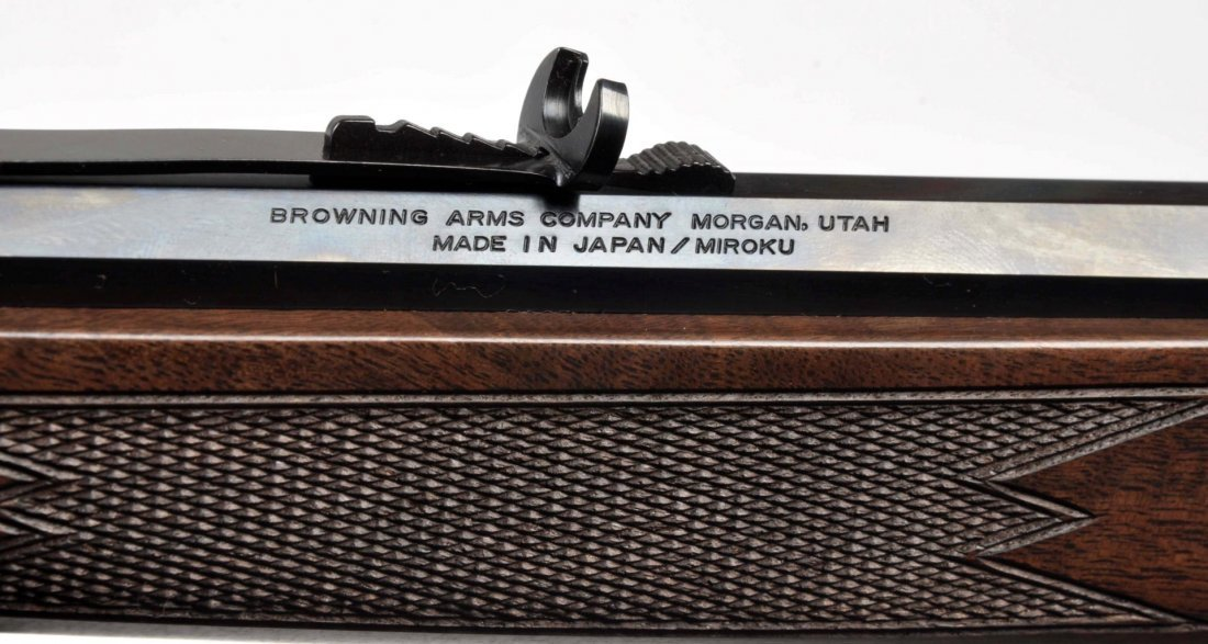 ** MIB Browning BL-.22 Lever Action Rifle (Alamo). - 6