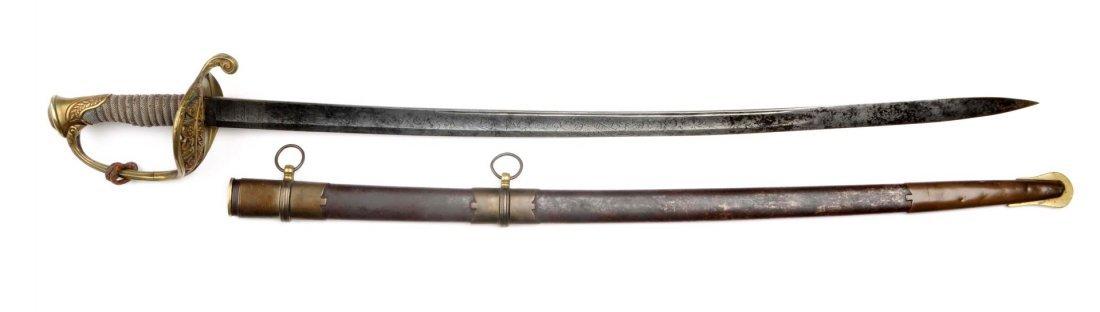 Presentation Model 1850 Staff Officer's Sword.