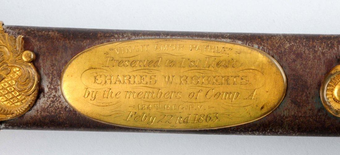 Civil War High Grade Pres. 1850 Officer's Sword. - 3
