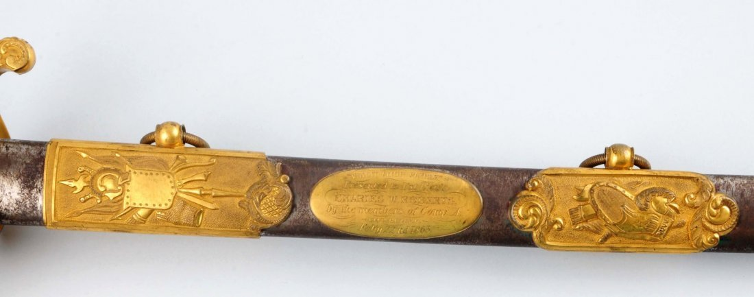 Civil War High Grade Pres. 1850 Officer's Sword. - 4