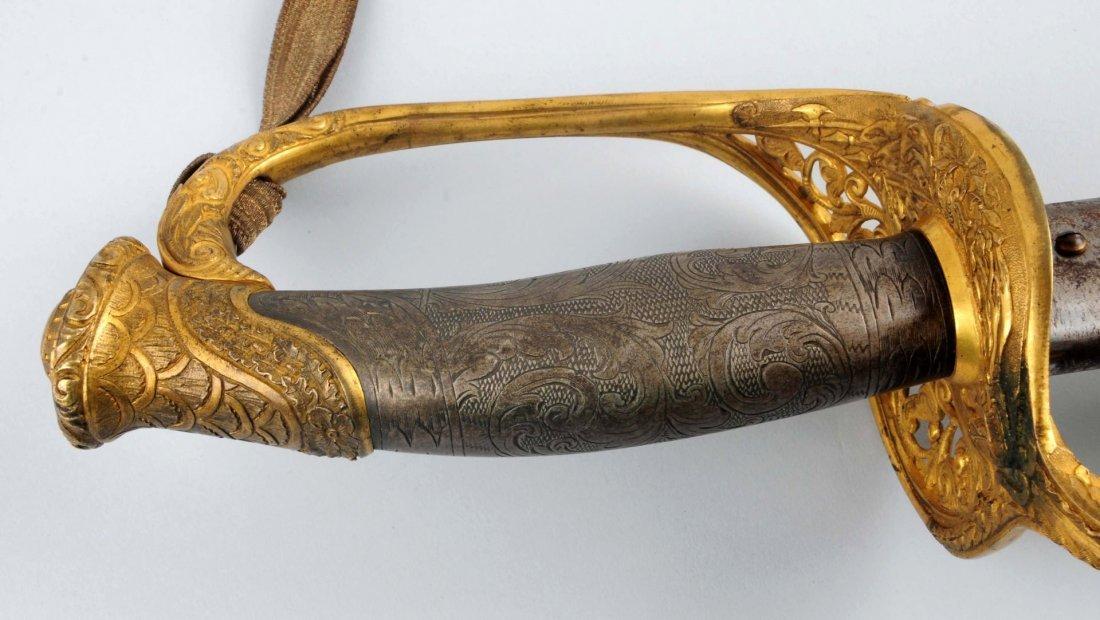 Civil War High Grade Pres. 1850 Officer's Sword. - 7