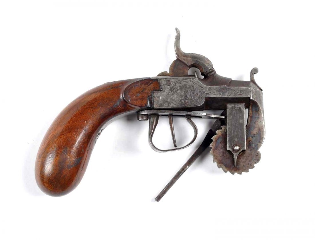 Antique Black Powder Tester Pistol.