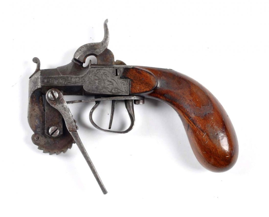 Antique Black Powder Tester Pistol. - 2