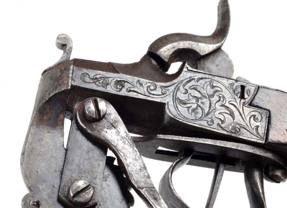 Antique Black Powder Tester Pistol. - 5