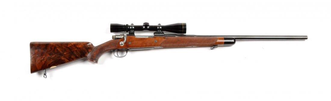 **Deluxe Custom Browning Safari Grade Rifle.