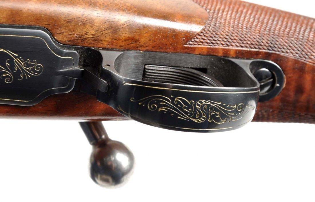 **Deluxe Custom Browning Safari Grade Rifle. - 2