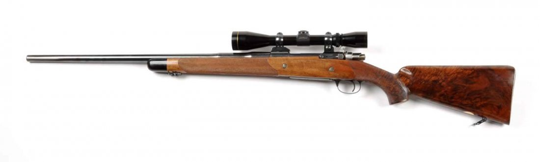 **Deluxe Custom Browning Safari Grade Rifle. - 6
