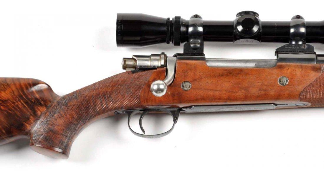 **Deluxe Custom Browning Safari Grade Rifle. - 7