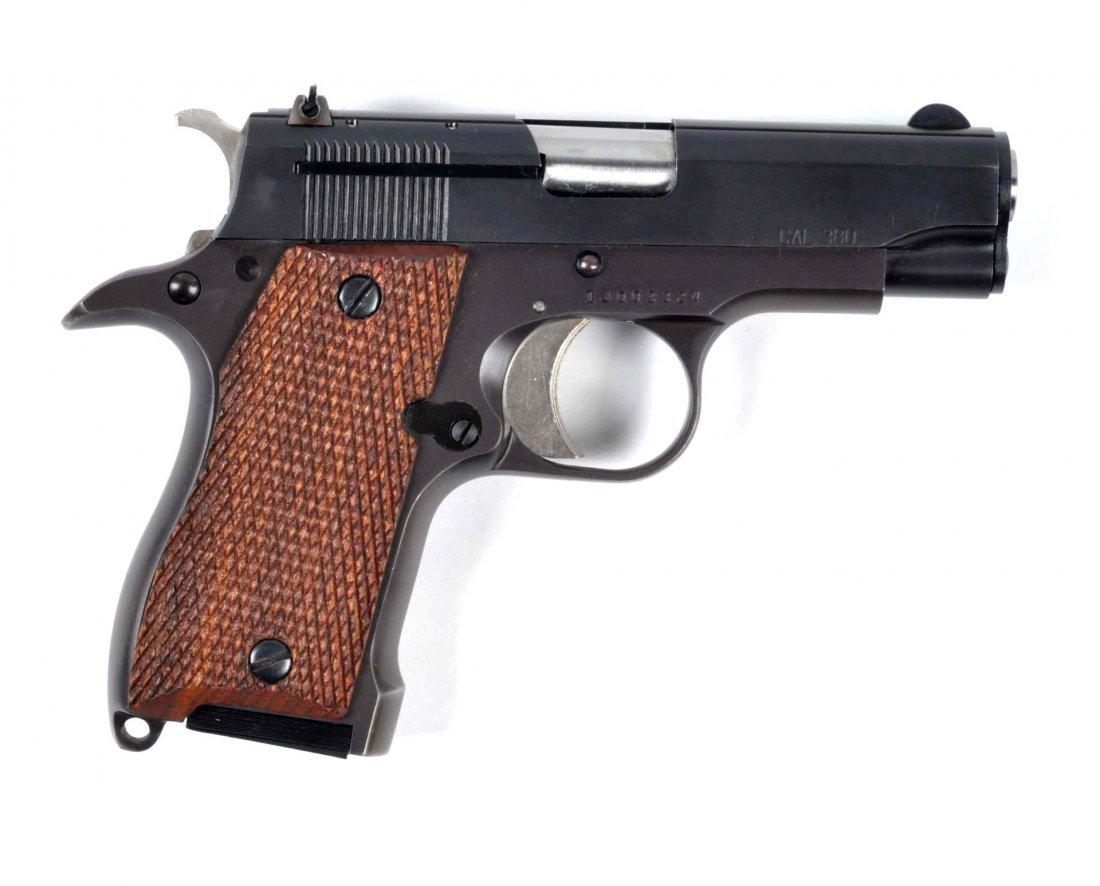 **Iver Johnson Pony Semi Automatic Pistol.