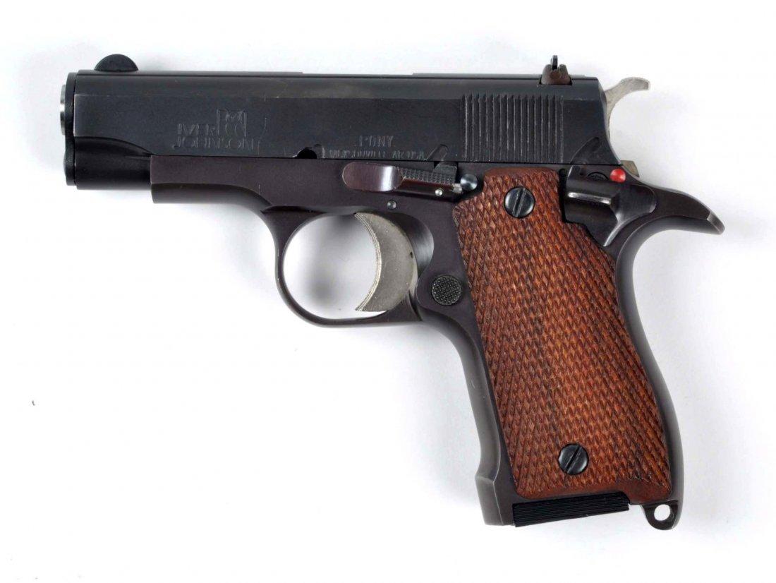 **Iver Johnson Pony Semi Automatic Pistol. - 2