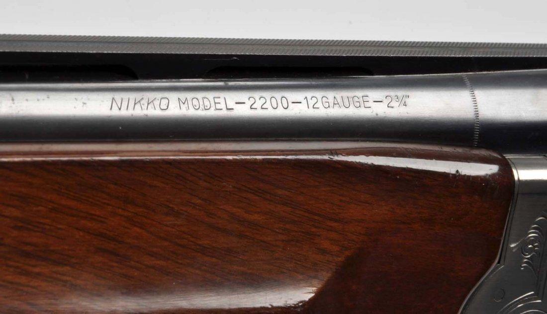 **Nikko Model 2200 O/U Shotgun. - 7