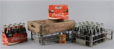 Lot Of 29: Coca Cola Soda Items