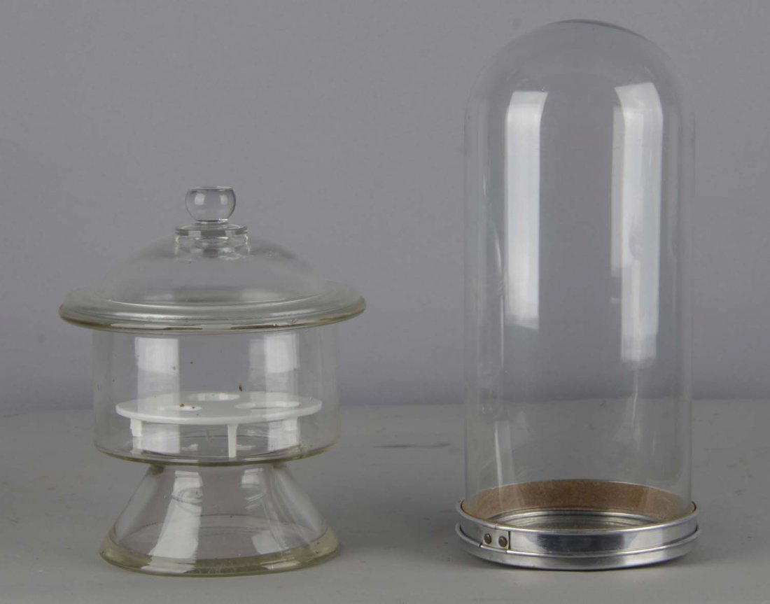 Lot of 2: Countertop Soda Fountain Containers