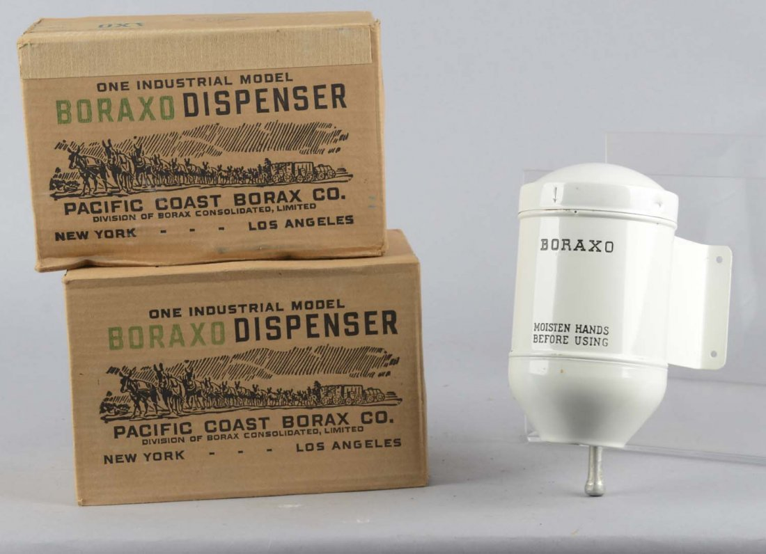 Lot Of 3: Vintage Borax Soap Dispensers