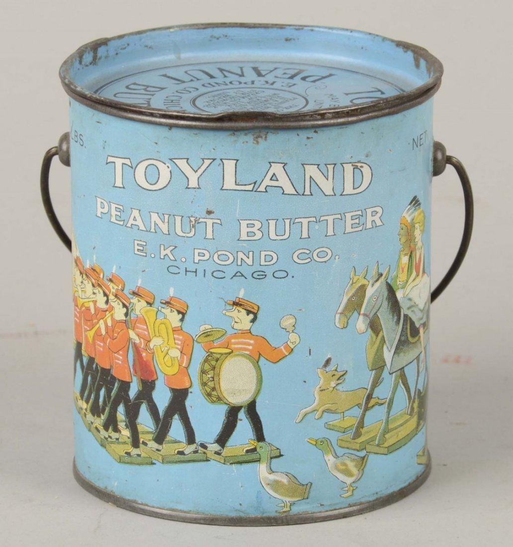 Toyland Peanut Butter Tin