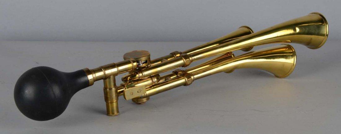 Brass Le Testophone Musical Automobile Horn - 2