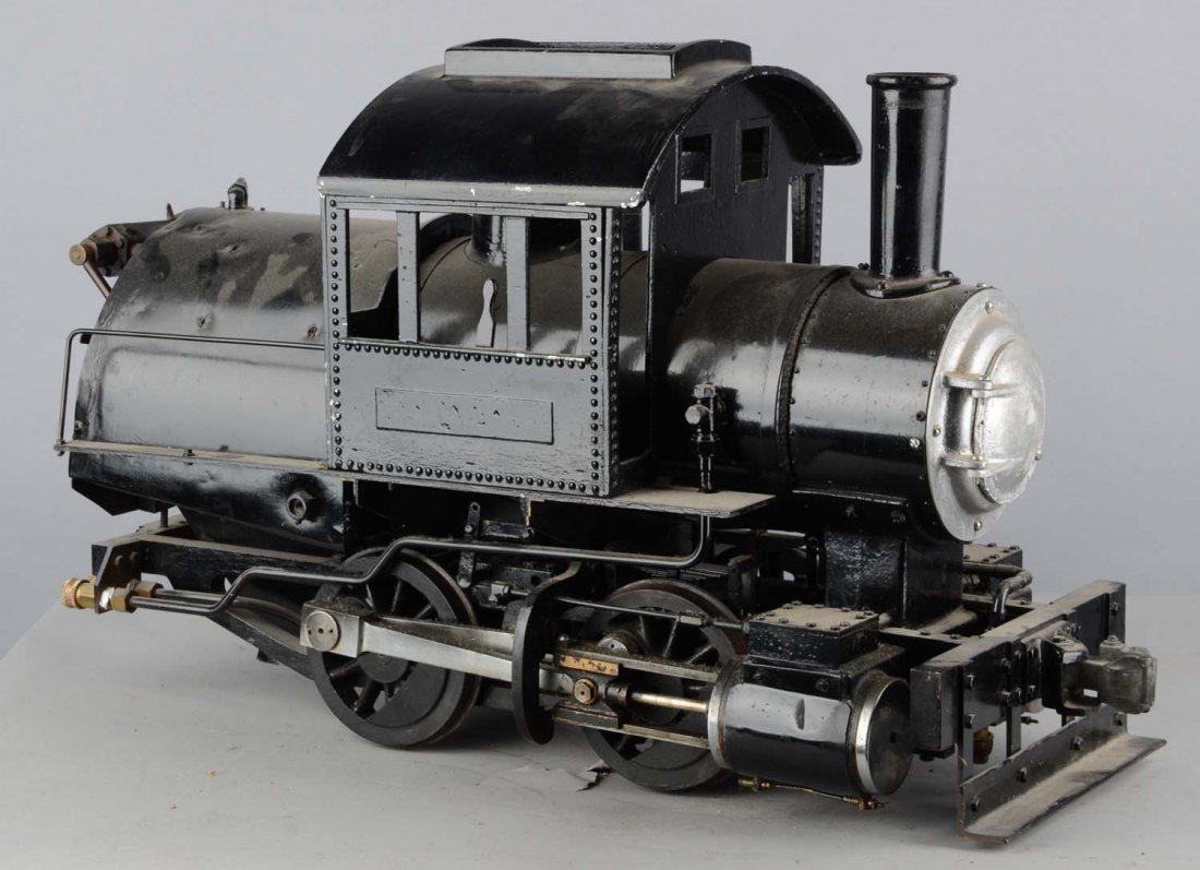 Little Engines Live Steam Camelback Locomotive Toy - 3