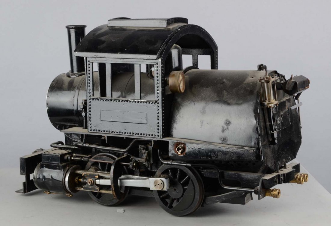 Little Engines Live Steam Camelback Locomotive Toy - 4
