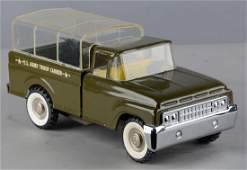 Structo Pressed Steel US Army Truck