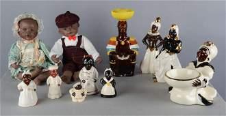 Lot Of 11 Black Americana Items
