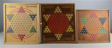 Lot Of 10 Chinese Checkers Games
