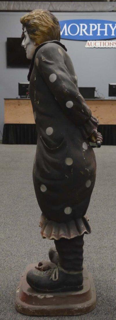 Tall Evil Scary Clown Statue - 4