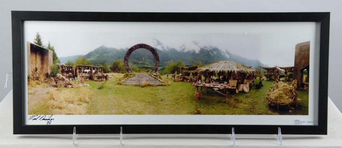 Lot Of 5: Stargate Production Pictures In Frames - 3